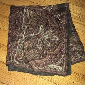 Ralph Lauren vintage scarf